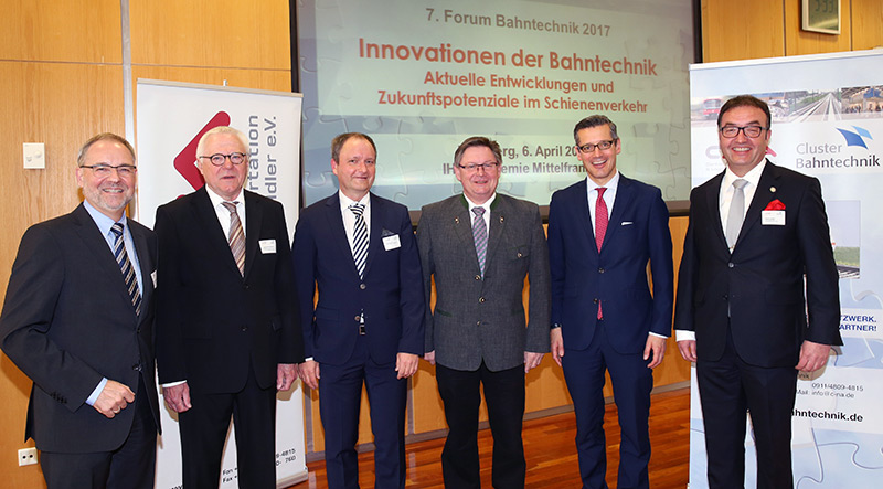 """Forum Bahntechnik 2017"" – current developments and future potentials in the rail traffic sector"