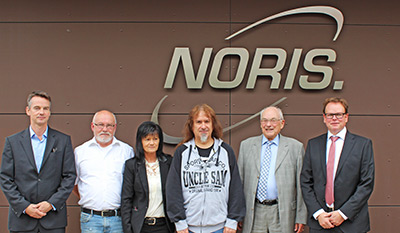 NORIS employees celebrate 40th anniversary