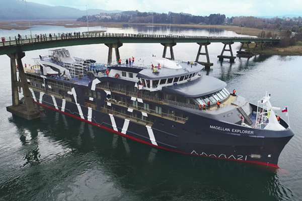 Magellan Explorer departs with NORIS automation system