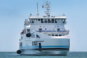 NORIS is part of the new ferry to Pelee Island
